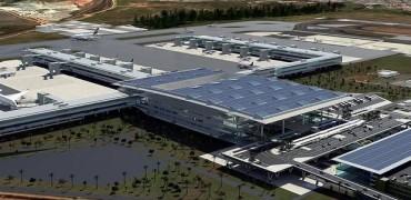 Arte do Projeto de Ampliação do Aeroporto de Viracopos