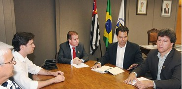 Jonas Donizette se reune com Secretário Bruno Covas