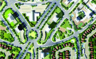 Projeto urbanístico São Quirino - Planejamento urbano COMURB