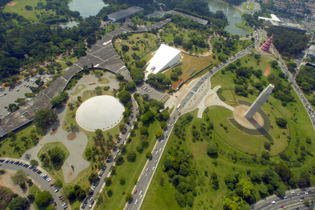 Em 2015 o parque Ibirapuera esteve na lista dos 10 melhores parques urbanos do mundo, de acordo com o ranking criado pelo jornal britânico The Guardian. Foto: Comurb.